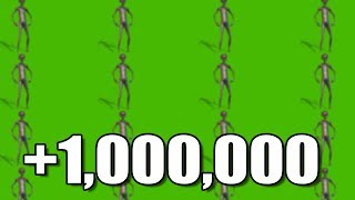 Howard The Alien Dancing played over 1,000,000 times