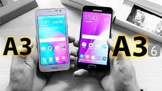 Samsung A3 2016 - Первое знакомство + Сравнение с А3 2015