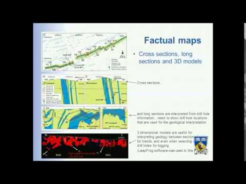 Mapping ore deposits- the basic geological methods