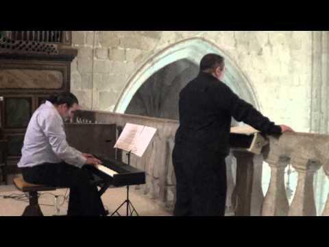 Ave Maria Caccini, Juan Carlos Martos, tenor, Antonio luis Suárez, órgano .MTS