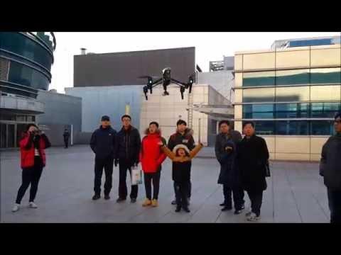 VIDEO JOURNAL [2015.01] DJI Inspire 1 Drone Demonstration