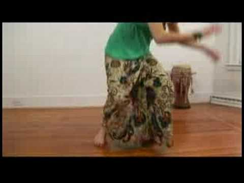 Advanced Senegalese Sabar Dance Combinations : Senegalese Sabar Dance: Twist Foot