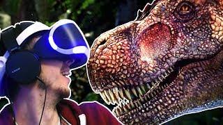 VISITING DINOSAUR ISLAND!!! - Ark Park VR