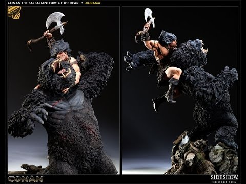 Conan The Barbarian: Fury of the Beast Diorama