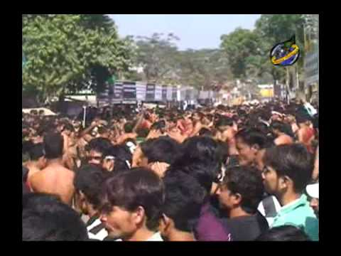 Ashura 10th Moharram 1435 Hj. 2014 in Hallaur (Zanjeer Ka Matam) Part 03