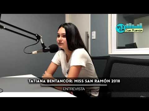 Tatiana Bentancor: Miss San Ramón 2018