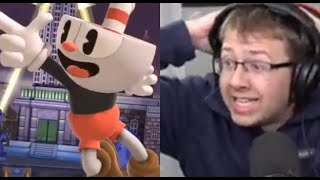 REACTING TO CUPHEAD IN SUPER SMASH BROS ULTIMATE