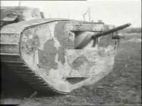 World War One - Tanks
