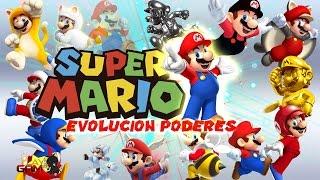 Super Mario Bros Evolución de Poderes (Power ups Evolution)