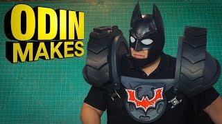 Odin Makes: LEGO Batman Helmet from LEGO Movie 2