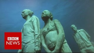 Europe's first underwater museum - BBC News
