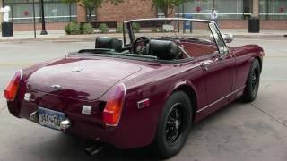 MG Midget with Twin rotary
