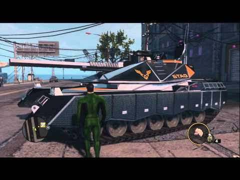 Saints Row : The Third - Black Vehicles of STAG (F-69 VTOL & Crusader)