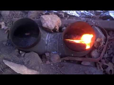 Dakota Fire Hole Trench Rocket Stove For Tent. Tipi. Yurt. etc