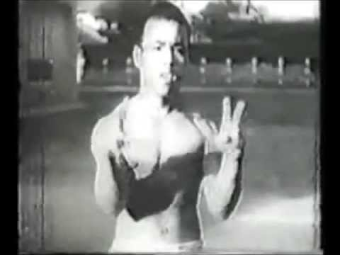 Pre WWII Video full-Featuring Okinawan Culture, Dance, and Goju Ryu (Naha-te) Demo Image 1