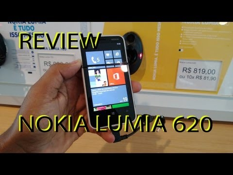 Nokia Lumia 620 Review HD (PORTUGUÊS)