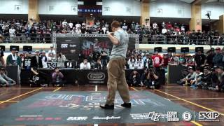 Popping Best16 1 BOOGIE TIE vs SOULBIN | 20150228 OBS Vol.9