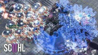 1 HOUR LONG EPIC STARCRAFT 2 GAME - Protoss vs Terran - Creator vs TY
