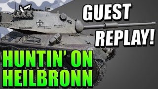 HUNTIN' ON HEILBRONN (Leopard 1 Gameplay) - World of Tanks Console | Guest Replay