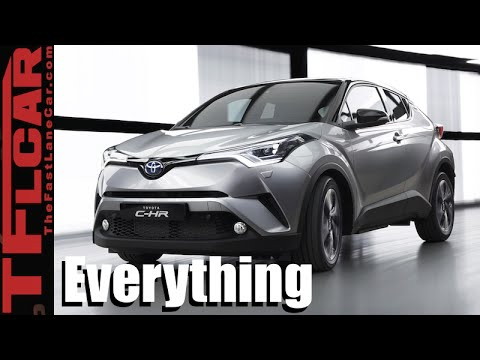 2017 Toyota CH-R: Everything You Ever Wanted to Know