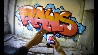 RAWS   ABANDONED SESSION - Graffiti