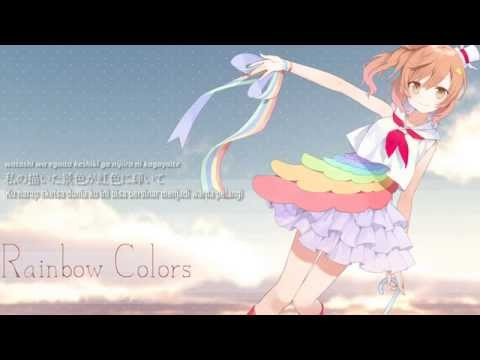 Satou Sasara-Rainbow Colors【Illustration PV】【Subtitle Indonesia + Lirik】【CeVIO】