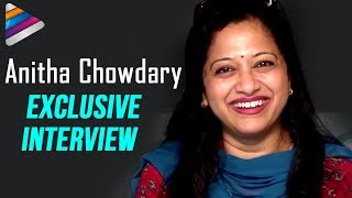 Anitha Chowdary Funny Interview with Fans | Facts about Anchor Anitha Chowdary | Telugu Filmnagar