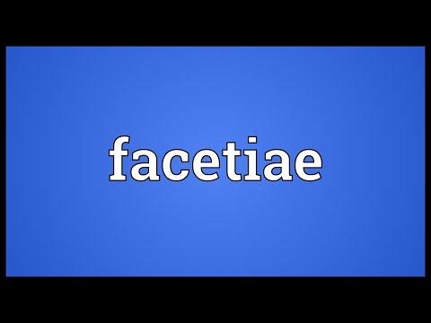 Header of facetiae