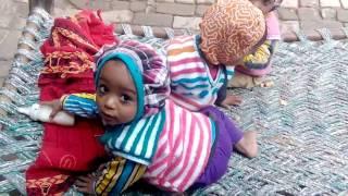 cute , charming indian  babies fighting ratupura tkd mbd