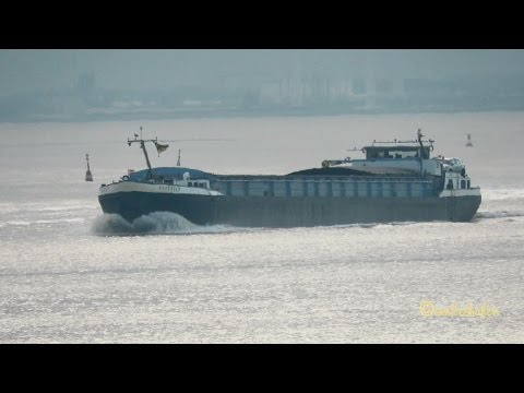GMS BREEDIEP PI2810 MMSI 244700155 Emden river barge inland cargo ship Binnensschiff