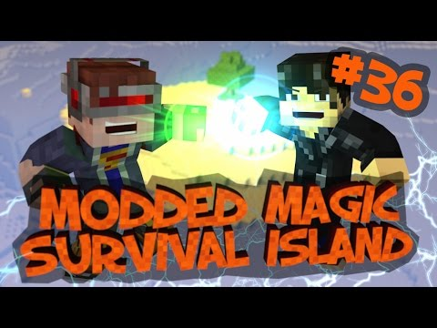 Survival Island Modded Magic - Minecraft: The Oven Of Smells! Part 36