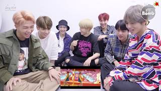 Eng Sub Bangtan Bomb Bts 39 Dna 39 Mv Real Reaction A6 00pm 170918 Bts 방탄소년단