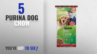 Top 5 Purina Dog Chow [2018 Best Sellers]: Purina Dog Chow Complete Dog Food Bonus Size, 50 lbs