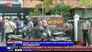 Buya Syafii Meninjau Lokasi Penyerangan Gereja di Sleman