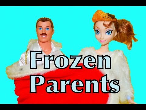 Frozen Parents Elsa & Anna's Mom & Dad AllToyCollector Play-Doh Barbie Dolls Disney Princess Toys