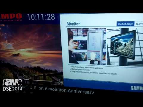 DSE 2014: Sampo Corporation Presents Its Android-Based LED Monitors From 42″ to 84″ With Wi-Fi