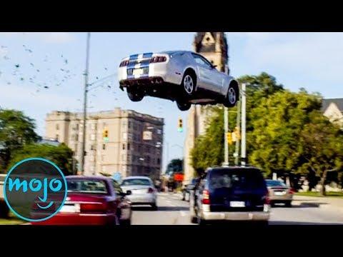 Top 10 Craziest Car Stunts In Movies