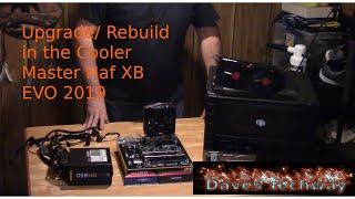 Upgrade/ Rebuild in the Cooler Master Haf XB EVO 2019, AMD Ryzen 5 2400G, GIGABYTE B450M DS3H MOBO,