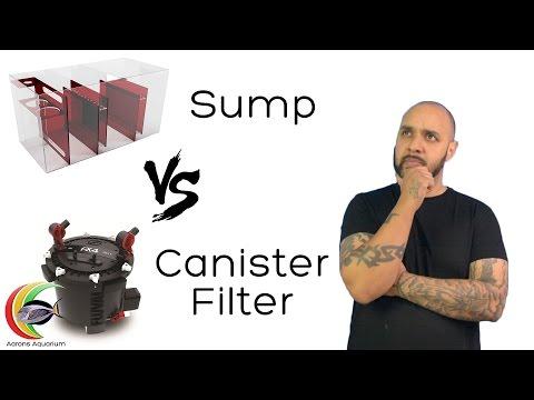 Aquarium Sumps vs Canister Filters