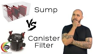 Aquarium Sumps vs Canister Filters