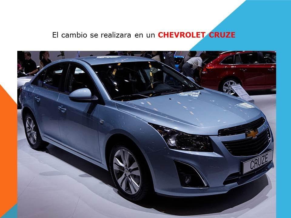 Chevrolet Cruze Como Cambiar El Filtro De Habitaculo