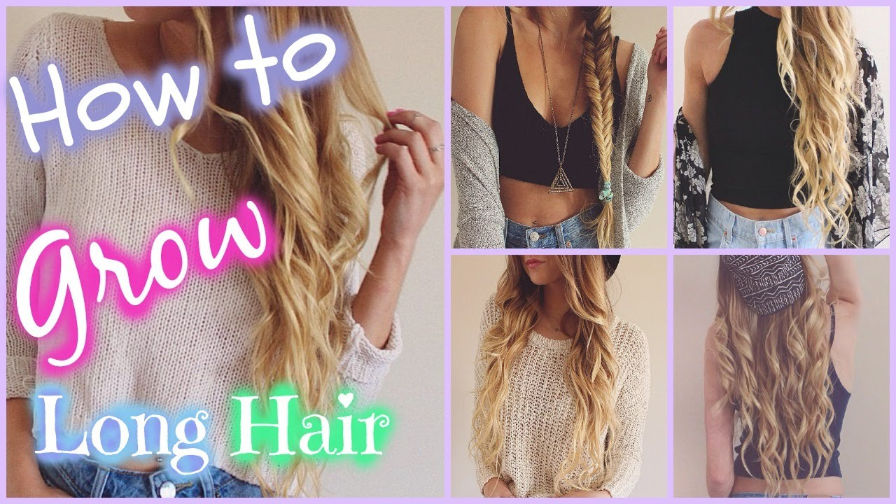 How to make your hair grow fast? stayglam.com