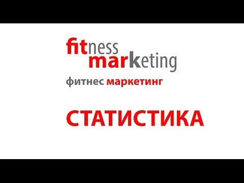 Фитнес маркетинг (статистика)