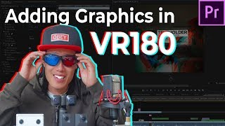 The BEST way to PROPERLY Add Text, Graphics, 2D Video in 3D VR180 | Insta360 EVO, Vuze XR, Qoocam