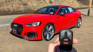 What It's Like To Drive The NEW 2019 AUDI RS5! (POV)