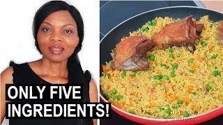 Cook with Me: 5-Ingredient Nigerian Fried Rice | Flo Chinyere