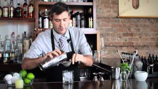 How To Make A New Orleans Pequot Fizz Cocktail