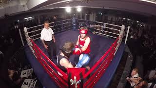 Ultra White Collar Boxing | Glasgow | Leo Glaister VS Jordan Stephenson