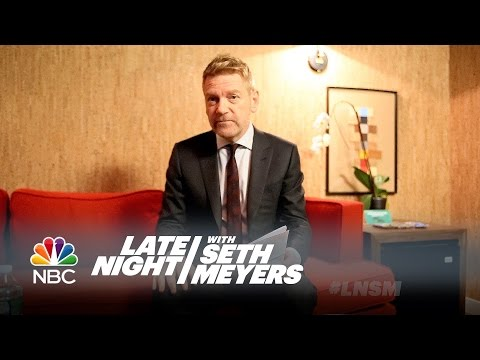 Kenneth Branagh Ranks Disney Princesses - Late Night with Seth Meyers