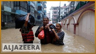 Floods, landslides after monsoon rain kill dozens in Nepal